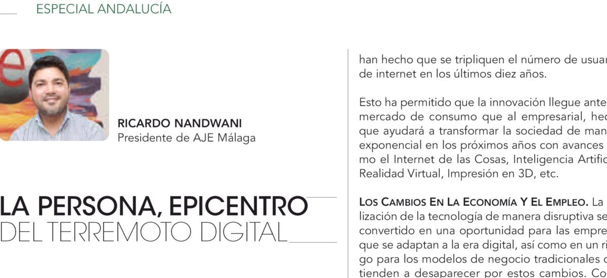 La persona, epicentro del terremoto digital